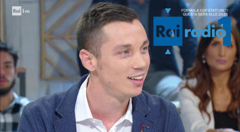 Andrea Visconti - Rai Radio 1
